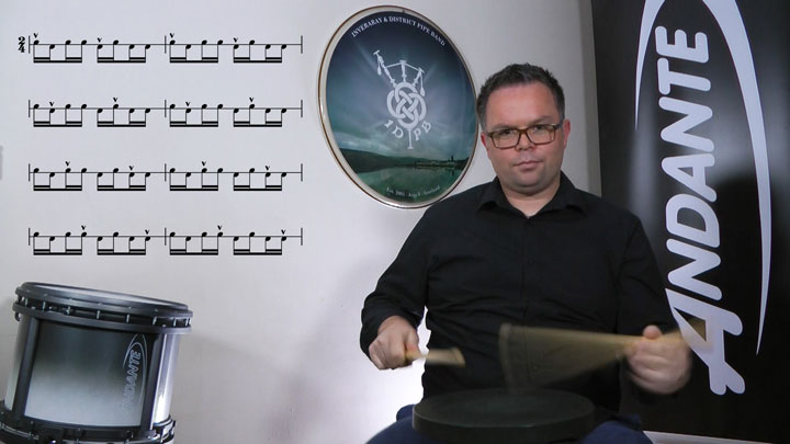 Learn pipe band drumming with 10 times World Champion Steven McWhirter